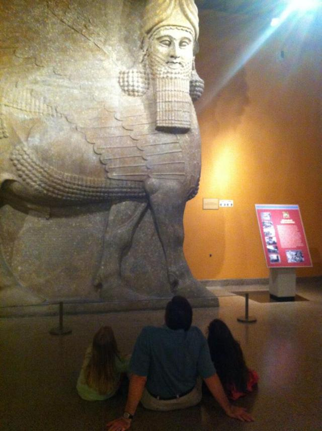Lamassu of Sargon II -- Oriental Institute, University of Chicago
