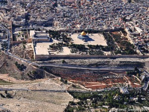 Aerial view of Jerusalem from the east. Photo by Ferrell Jenkins.