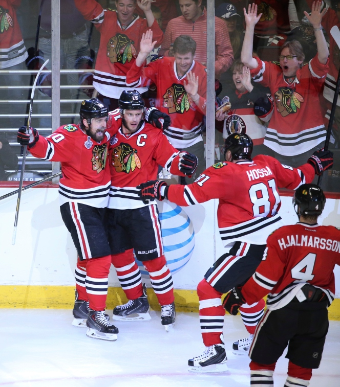 Lightning-Blackhawks Stanley Cup Final is second-most watched final in 18years